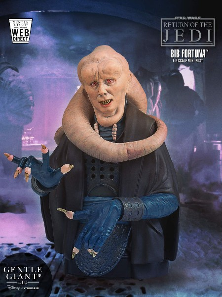 Gentle Giant Star Wars Bib Fortuna Exclusive Mini Bust